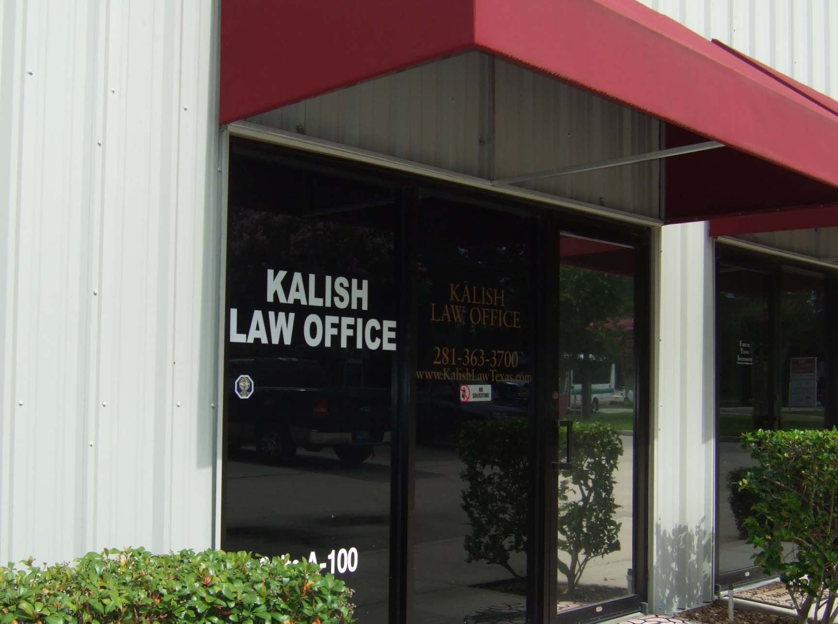 Front view of Kalish Law Office