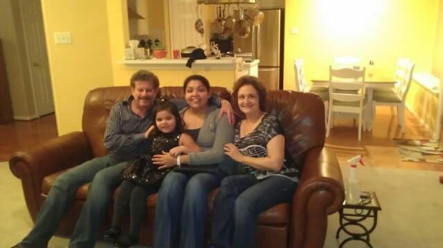 Teresa and her family